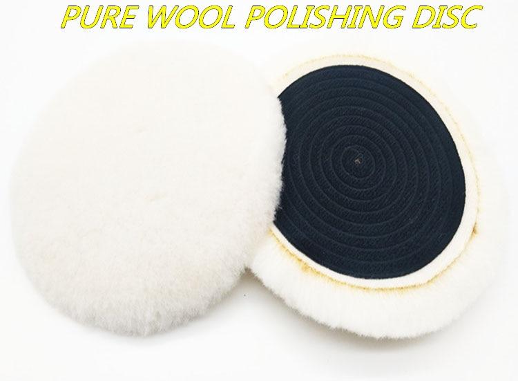 6 alta qualidade australia real sopro de la mistura textil almofada de espuma de polimento polimento