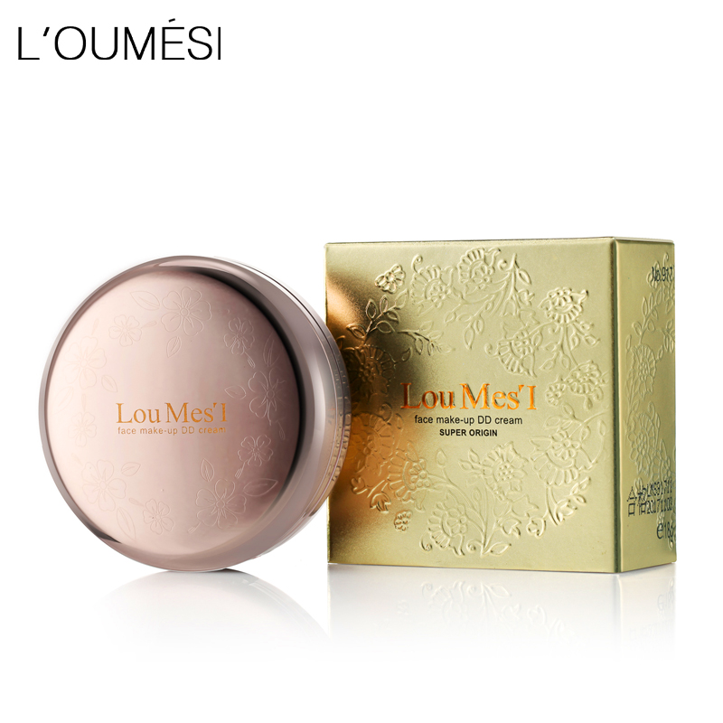 Loumesi Face Base Pressed Powder Makeup Face Powder dry and wet 2 in 1 Brighten Face Powder Makeup Skin Finish Powder clinique mineral powder makeup for face spf30