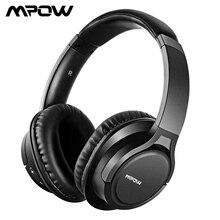 سماعات رأس بلوتوث Mpow H7 سماعات ستيريو لاسلكية فوق الأذن سماعة مزودة بميكروفون ووقت لعب 13H لـ iOS/Andriod/Table/PC/TV