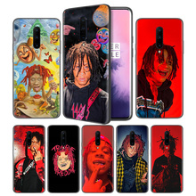 Trippie Redd Soft Black Silicone Case Cover for OnePlus 6 6T 7 Pro 5G Ultra-thin TPU Phone Back Protective