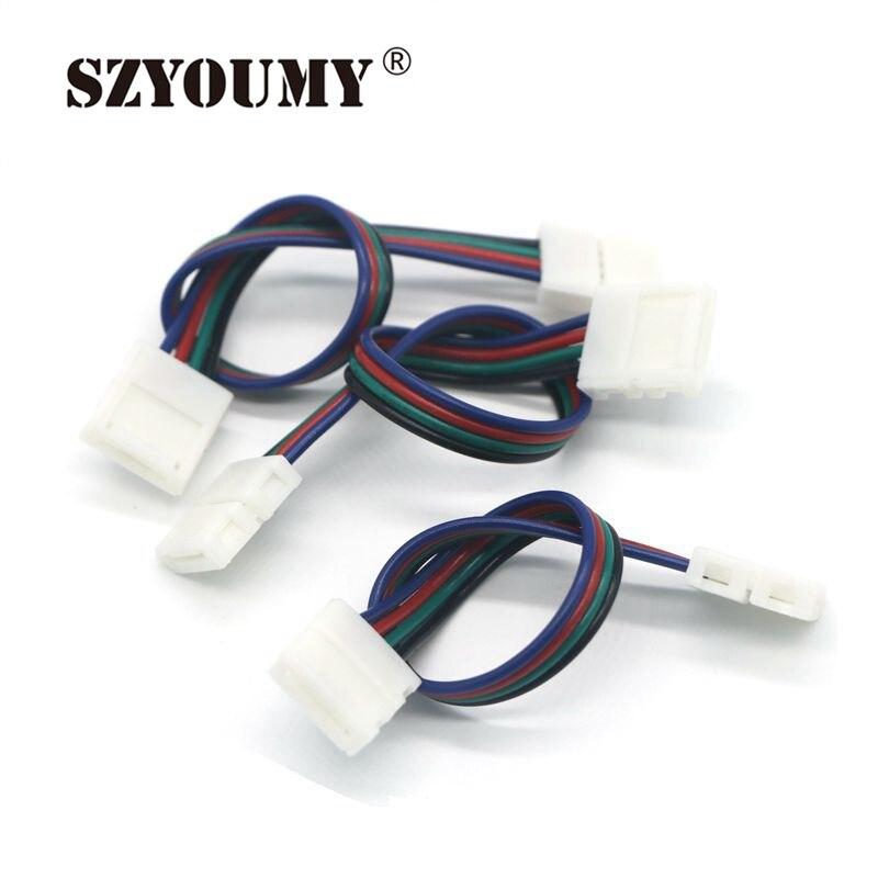 2 x no solder connecteur d/'alimentation CC pour 3528 5050 3014 2835 5630 Bande DEL