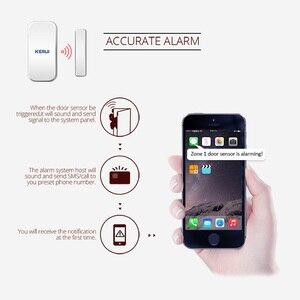 Image 5 - KERUI D025 Wireless Porta/Finestra del Sensore del Rivelatore Per KERUI WIFI Sistema di Allarme di GSM di Sicurezza Domestica Buglar Allarme 433Mhz sensore porta