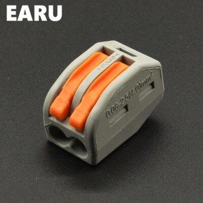 100 stücke WAGO 222-412 PCT-212 PCT212 Universelle Kompakte Verdrahtung Stecker 2 pin...