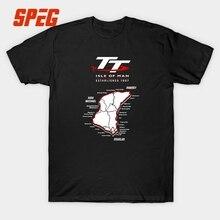 Custom Work T Shirts Isle Of Man TT Motorcycle Male Pre-Cotton Short T-Shirt Printed Men Men's T Shirts Fashion 2017