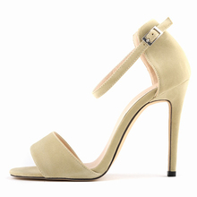 ФОТО new leisure contracted peep-toe female sexy stiletto heel sandals in summer