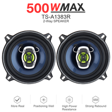 5 Inch 500W 2 Way Car Coaxial Auto Audio Music Stereo Full Range Frequency Hifi Speakers Non-destructive Installation for Cars цена