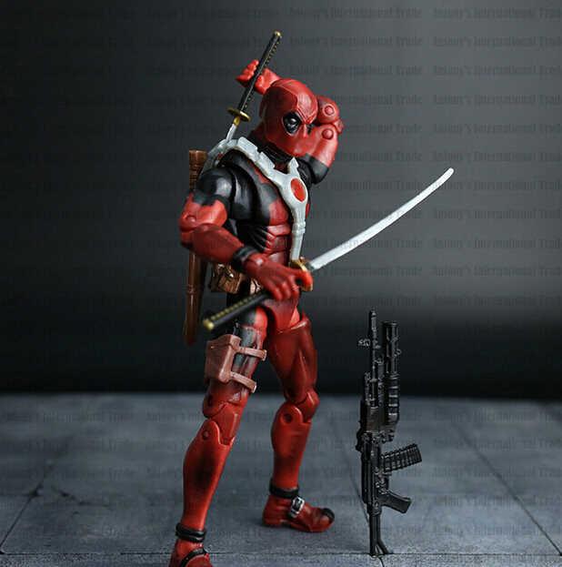 Novo quente! 16cm super hero justice league X-MAN deadpool figura de ação brinquedos brinquedo natal nenhuma caixa