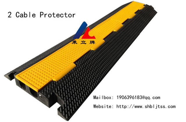 2 cable protector trough plate wire cable trough cable trough cover ramp wire protector wire floor