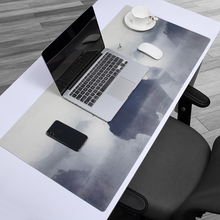 Large Mouse Pad Waterproof  Leather Gaming Mousepad Anti-slip Notebook Mouse Mat Desk Office Keyboard Mice for Dota CSGO 60*30CM 2 in 1 900 450mm double side large gaming mouse pad pu leather non slip mouse mat for dota 2 csgo office desk mousepad gamer