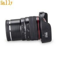 Майке 8 мм f/3,5 широкоугольный объектив рыбий глаз для Sony Alpha и Nex беззеркальных E Mount камера с APS C