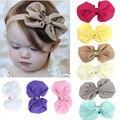 9 PCS de Moda de Nova Hot Crianças Crianças Meninas Do Bebê Chiffon Flores Fotografia Headband Headwear Cabelo da Cabeça Banda Peças Acessórios