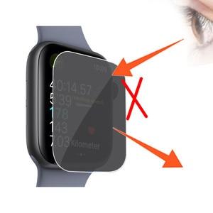 Image 4 - Privacy Pellicola di TPU Protezione Dello Schermo Per Apple Serie di Orologi 4 44 millimetri Dropshipping Oct.5