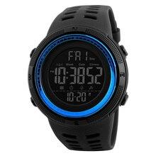 Роскошные Брендовые мужские спортивные часы для дайвинга 50 м цифровые светодиодные армейские часы мужские модные повседневные электронные наручные часы Relojes