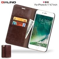 QIALINO For IPhone 5 SE 5s 6 6s Plus 7 7 Plus 8 8 Plus X