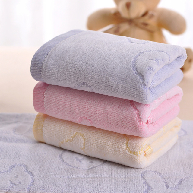 baby towel newborn cotton saliva towel nursing towel for bath soft bathroom washcloth kids. Black Bedroom Furniture Sets. Home Design Ideas