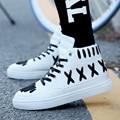 Лето мужские студенты хан издание обувь кроссовки мужчин повседневная обувь прилива обувь мужская обувь белый хип-хоп прилив