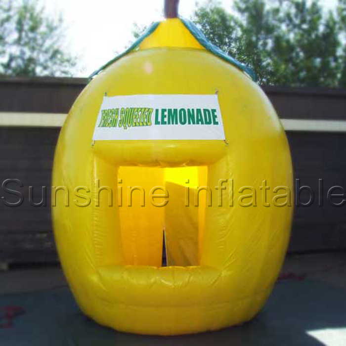 Newest Design Moveable Inflatable Lemonade Booth