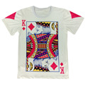 2016 Summer Style Hip Hop T Shirt Men Women Playing Cards Print 3d T Shirt Harajuku Clothes Size M-XXL