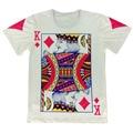 2016 Verão Estilo Hip Hop T Shirt Homens Mulheres Jogando Cartas de Impressão 3d Camiseta Harajuku Roupas Tamanho M-XXL