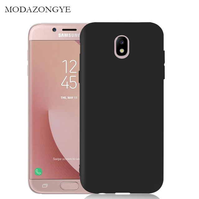 separation shoes 7ff49 e34b8 US $3.89 40% OFF Brand For Soft Case Samsung Galaxy J7 2017 Case Cover  Silicone Back Cover Phone Case For Samsung Galaxy J7 2017 SM J730F J730-in  ...