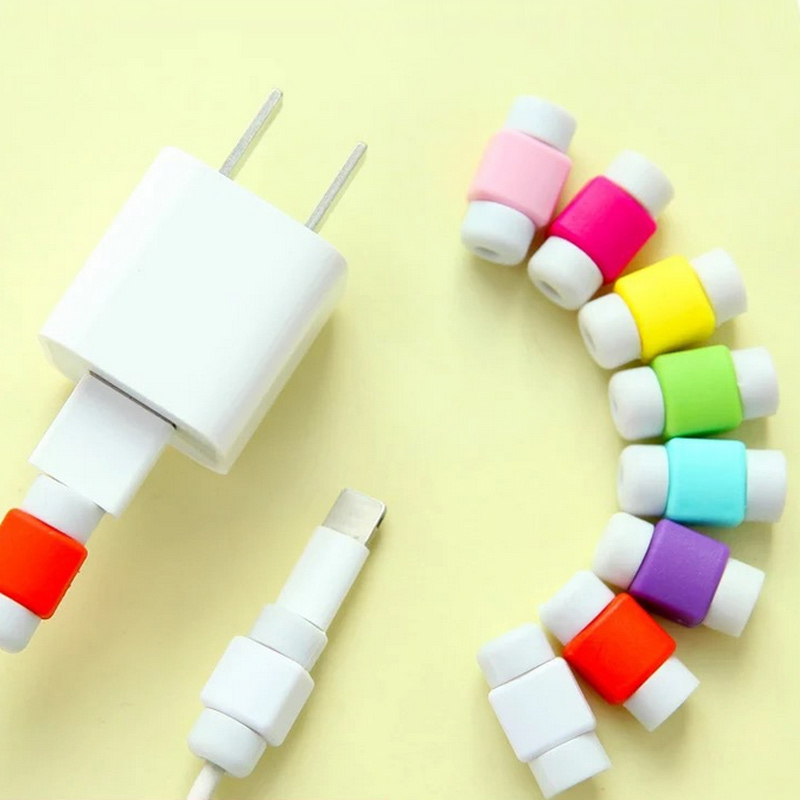 10 Pcs Mini USB Cable Protector Cord Protection Wire Cover For Phone Tablet Data Charger Earphone Line Protected Cover GDeals multifunctional dc voltage regulator stabilizer cable wire power supply interface cable line mobile phone repair tools usb