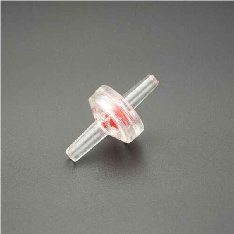 5.5mm OD Nhựa Barb Rõ Ràng Một Cách Không trở về Kiểm Tra Van Ống Đầu Nối Ống Nước khí Chất Lỏng