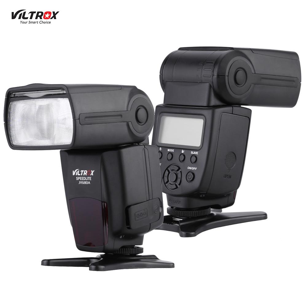 Prix pour Viltrox JY680A Caméra Flash GN33 Speedlite Flash Light avec Écran LCD et Rétro-Éclairage Flash pour Canon Nikon Pentax Caméras