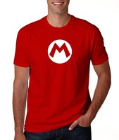 Rock Heavy Metal Style Super Mario Costume T Shirt Hipster O Neck Cool Tops