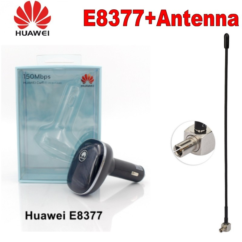 Unlocked New Original Huawei E8377 E8377s-153  with antenna 4G LTE Hilink Carfi 150Mbps Carfi Hotspot  with Sim Card  PK E8372(China)