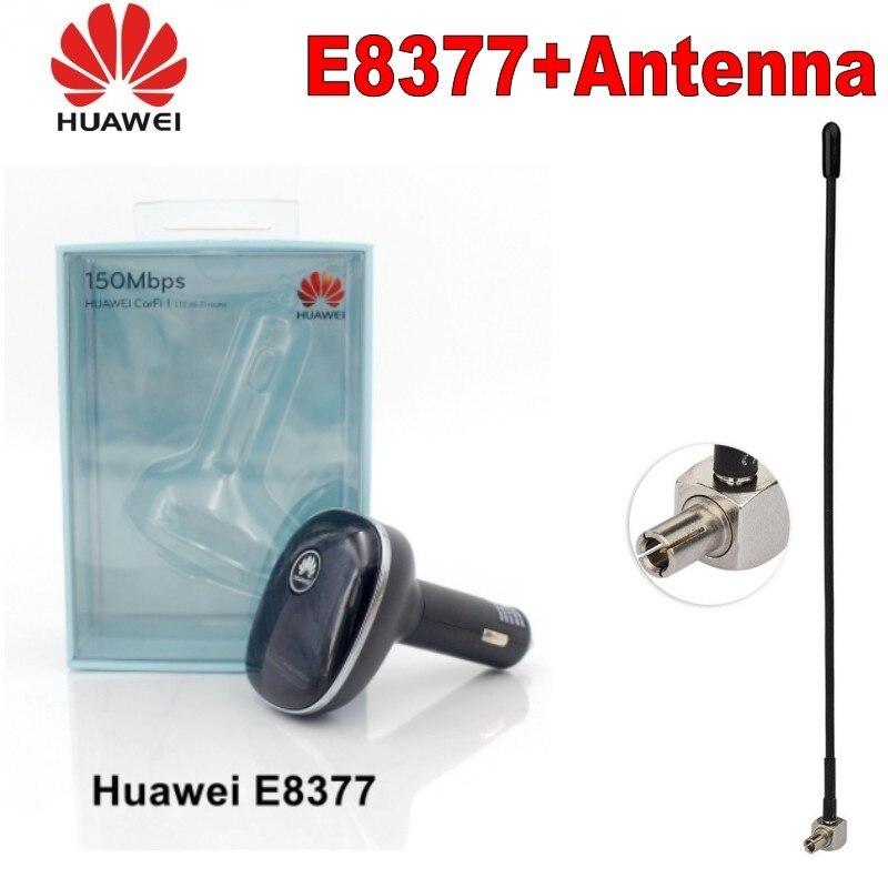 Débloqué nouveau Huawei E8377 Original E8377s-153 avec antenne 4G LTE Hilink Carfi 150 Mbps Carfi Hotspot avec carte Sim PK E8372