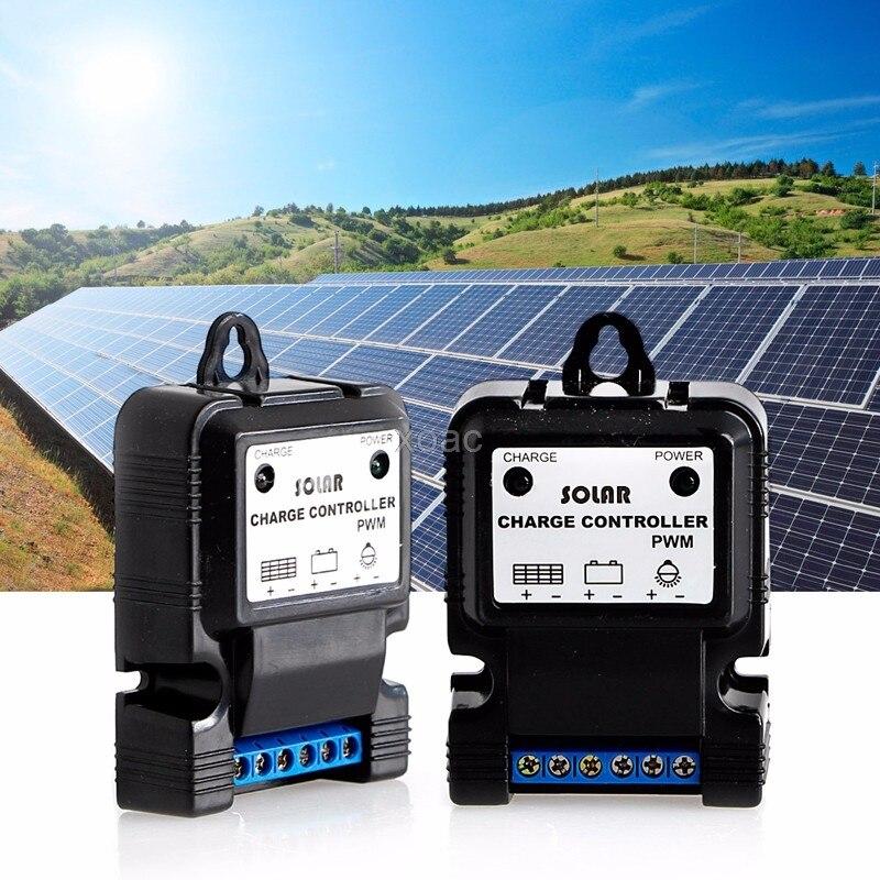12 В 3A Панели солнечные Зарядное устройство регулятор для парка улице, сад, свет горячие M04 челнока