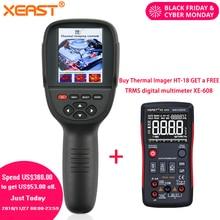 2018 Новый Realeased HT-18 ручной инфракрасный температура тепла ИК цифровой термальность Imager детектор камера с хранения 160×220 Resol