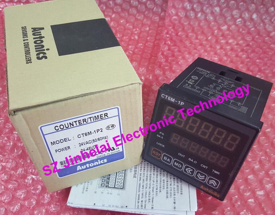 все цены на CT6M-1P2(CT6)  New and original   AUTONICS  Counter /Timer   24VAC(50/60Hz),24-48VDC онлайн