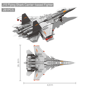 Image 5 - 270pcs Military Series F 15 Eagle Fighter Building Blocks Model Army Technic Airplane Set Bricks City Children Toys Kids Gift