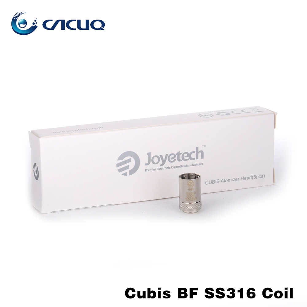 Russian warehouse Original Joyetech Cubis BF SS316 Coil 0.5ohm / 0.6ohm / 1.0ohm for ego aio cubis tank ego aio coil bf coil