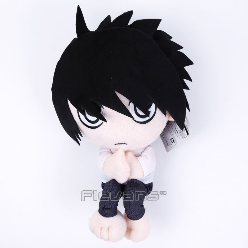 Anime Death Note L Lawliet Plush Toys Soft Stuffed Dolls 35cm