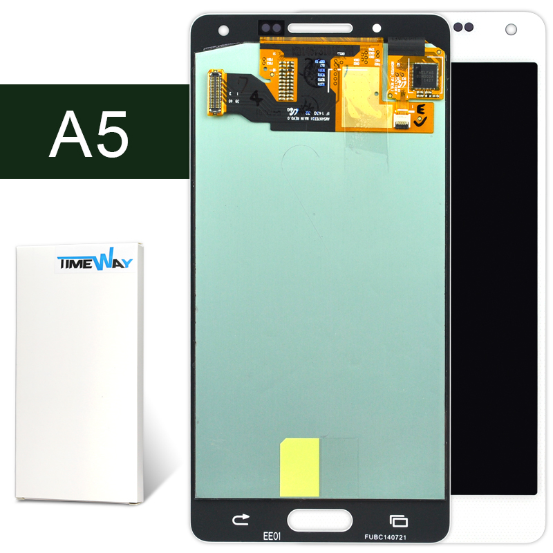 DHL 10pcs Free Shipping for Samsung A5 LCD SCreen Display Touch Screen Digitizer Assembly Replacement A500 A5000 --Timway