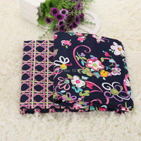 New Arrive 150CM Width Ribbons Printed 100 Cotton Fabrics Plain Weave Fabric Printed Patchwork Cotton Fabric