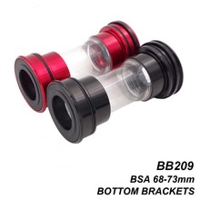 MTB Mountain Bike BB209 BB90/92 BB86 Bottom Brackets Ceramic Bearing Road BB Axle 24mm For Shimano Sram GXP