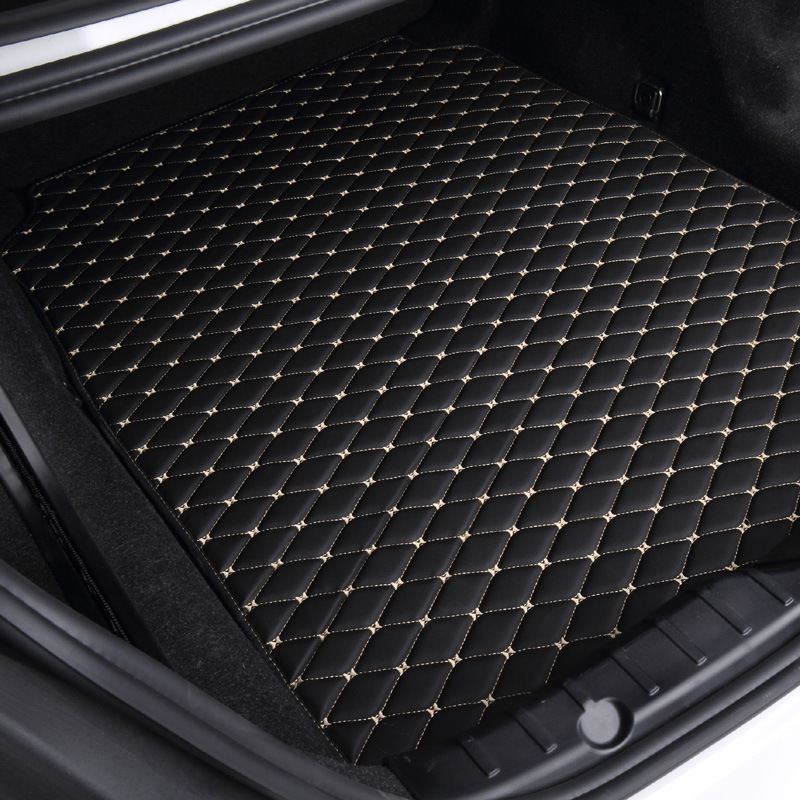 Custom special car trunk mats for Volkswagen CC GOLF POLO TIGUAN PASSAT EOS Bettle 5seat w waterproof durable cargo rugs carpets dedicated no odor carpets waterproof non slip durable rubber car trunk mats for toyotafj cruiser