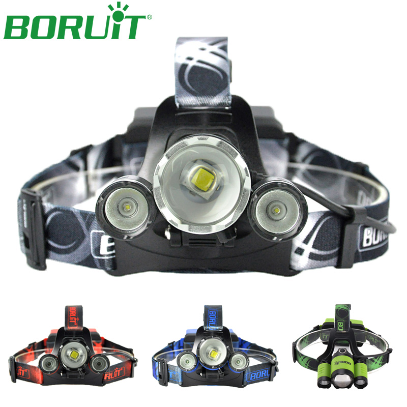 BORUiT XML L2 Headlamp Zoomable Flashlight Rechargeable Portable Waterproof Headlights Camping Hunting Head Torch Light 18650 sitemap 165 xml