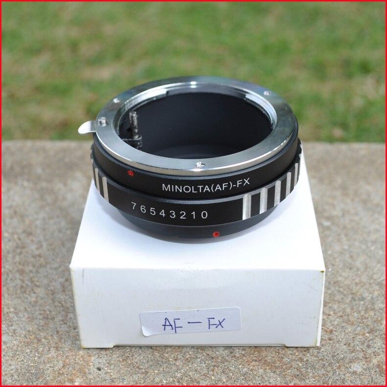 AF-FX Adaptateur Pour Sony Un/Pour Minolta Lens pour Fujifilm X-Pro1 X-E1-E2 x X-M1 X-A1 XT1 XE3