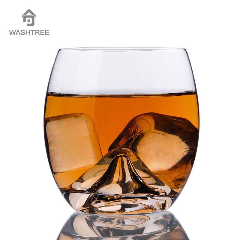 New creative hand volcano bottom whisky glass egg cup water cup bar wine cup