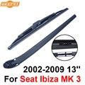 QEEPEI Lâmina Traseira e Braço Para Seat Ibiza MK 3 2002-2009 13 ''3/5 portas Hatchback Iso9000 Alta Qualidade Natural borracha