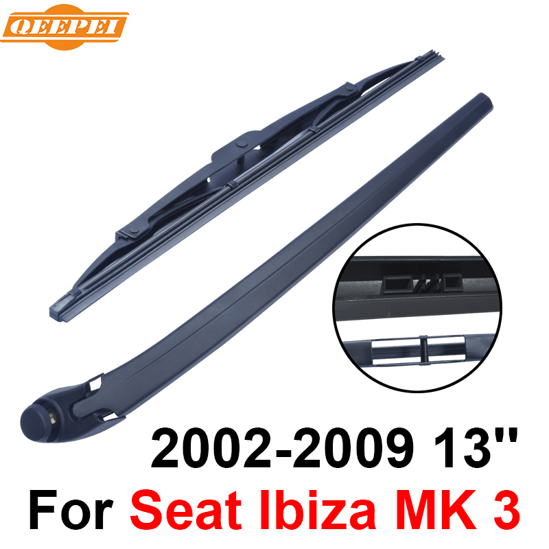QEEPEI Rear Wiper Blade And Arm For Seat Ibiza MK 3 2002