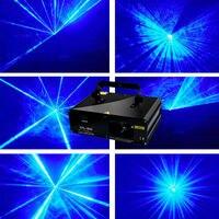 Новый 300 МВт dj light Blue DMX лазер диско вечерние бар клубную Сцену оборудования