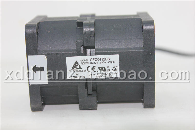 Neue GFC0412DS 4 CM 12 V 2.8A4056 dual motor booster server lüfter