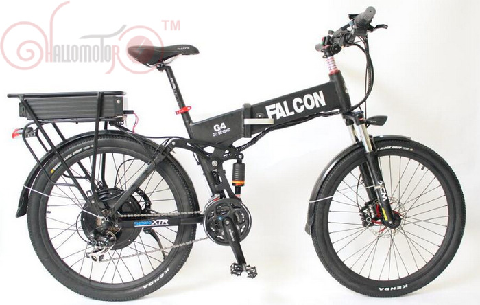 ConhisMotor 48V 1000W Motor Folding Electric Bicycle 20Ah Li-ion Battery Flat Alumnium Case Ebike Double-Layer Rack LCD Display free shipping 48v 15ah battery pack lithium ion motor bike electric 48v scooters with 30a bms 2a charger