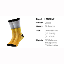 Absolutely amazing Beer glass / pint unisex 3D socks