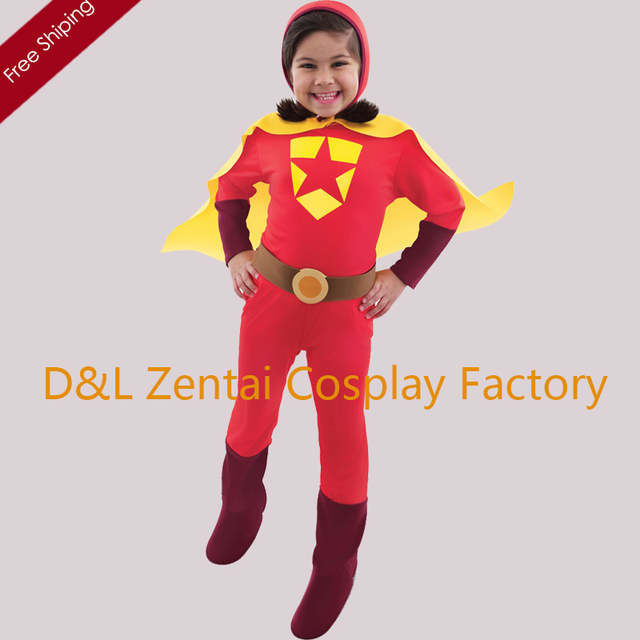 Free Shipping DHL Halloween Full Body Red Word Girl Superhero Costume Spandex Child Costume KC1717  sc 1 st  AliExpress.com & Free Shipping DHL Halloween Full Body Red Word Girl Superhero ...